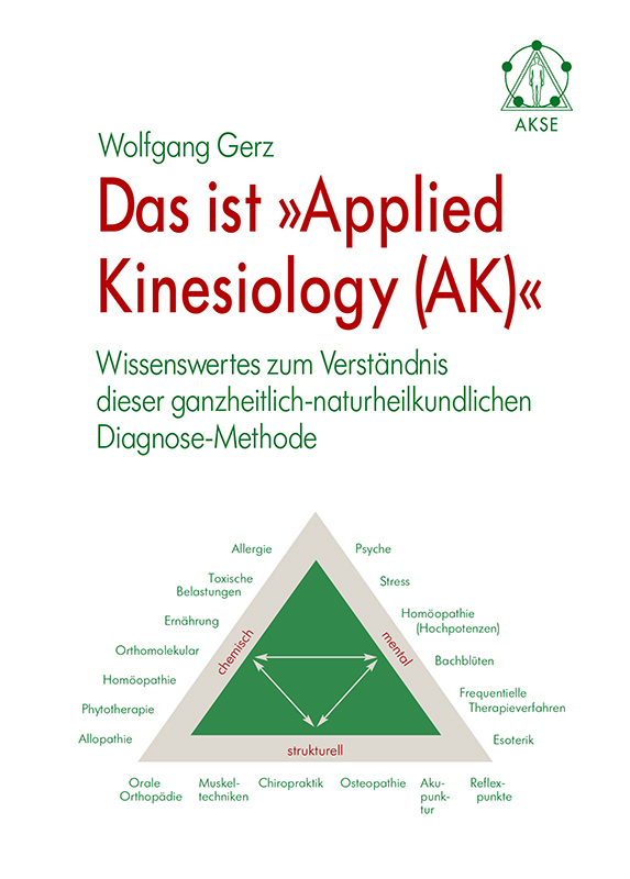 Das ist Applied Kinesiology (AK)